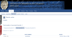 People of Medieval Scotland
