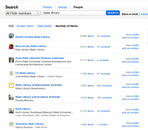 People search on Flickr